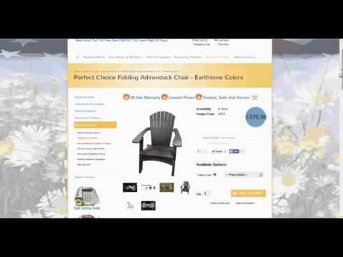 Find Durable Folding Adirondack Polywood Chairs Online