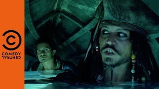 Pirates Of The Caribbean: The Curse Of The Black Pearl On Comedy Central