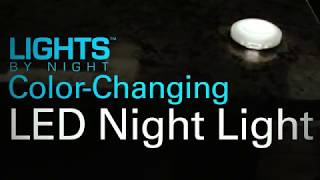Lights by Night Color-Changing LED Night Light (39053)