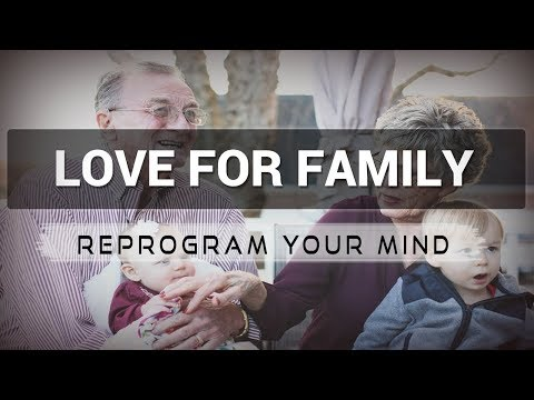 Positive Affirmations for Love for Family - Law of attraction - Hypnosis - Subliminal