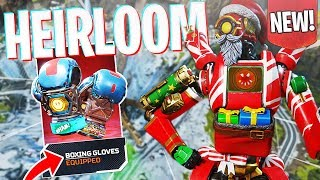 """Pathfinder's NEW Heirloom - """"Boxing Gloves"""" Gameplay! - PS4 Apex Legends"""