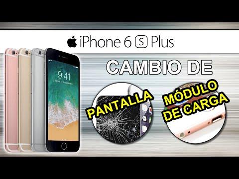 333de9b906b REPARACIÓN iPhone 6S Plus // Como cambiar PANTALLA, PUERTO DE CARGA,  MICRÓFONO y PUERTO JACK - YouTube