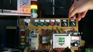 HOA Program - MicroLogix 1100 PLC Trainer