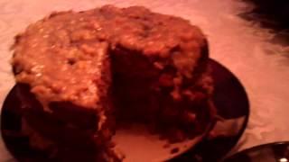 How To Make Mom's German Chocolate Cake 001