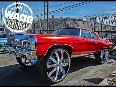 Forgiato Weekend 2016 : Candy Red Chrome 73 Donk on 34