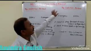 THE DEDUCTIVE AND INDUCTIVE METHOD IN GRAMMAR TEACHING FOR TRT/DSC