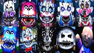 Baby s Nightmare Circus ALL JUMPSCARES