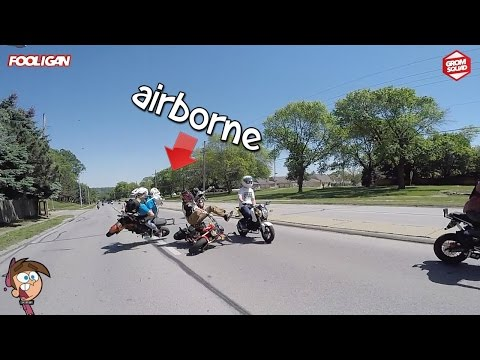 Groms COLLIDE at 45mph | Angry Ex-Cop | 125 Stunts