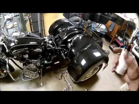 2008 Yamaha V-Star 1100 Trike Conversion part 34