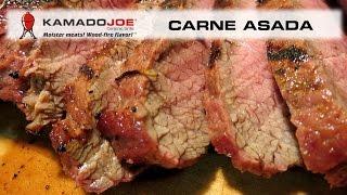 Kamado Joe Carne Asada