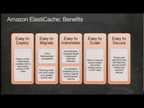 AWS re: Invent DAT 301: Accelerating Amazon RDS Performance with Amazon ElastiCache
