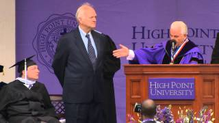 Collin & Ernest | High Point University Commencement 2013 | North Carolina Colleges and Universities