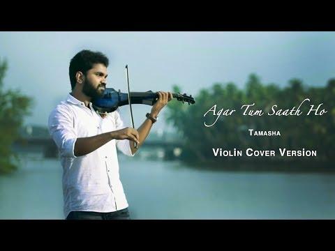 Agar Tum Saath Ho | Tamasha | A R Rahman | Violin Cover Version | Kreative KKonnect