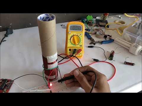 How to make a mini Tesla Coil 9V