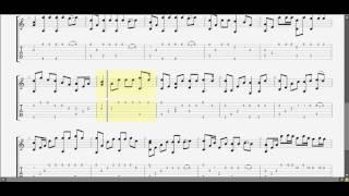 Ngày tết quê em guitar solo tab by D U Y