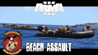 Gambler 3 Beach Assault - ArmA 3 Co-op Gameplay