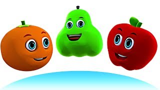 FIVE FUNNY FRUITS | Kids Songs - Nursery Rhymes for Babies | Baby Songs By All Babies Channel