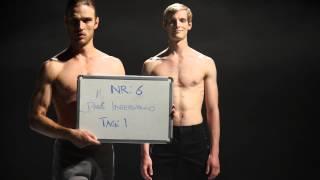 Amazing Ballet Dancers behind the Scene of Organ/Dance Project