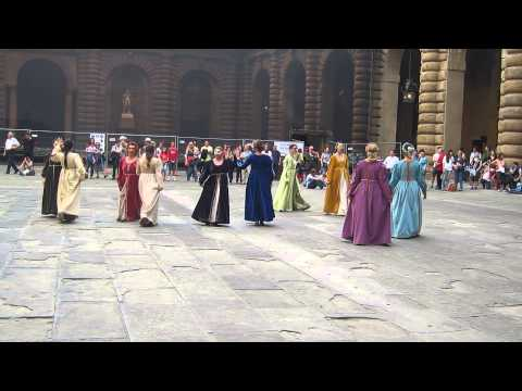 Medieval Court Dancing in Palazzo Pitti