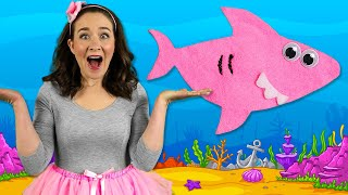 Baby Shark Finger Family - Kids Songs & Nursery Rhymes