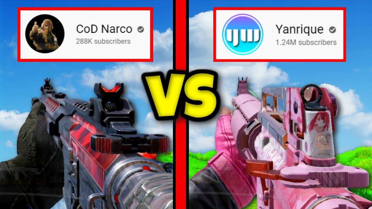 COD NARCO'S M4 vs YANRIQUE'S M4 (WHICH IS BETTER) | COD MOBILE | SOLO VS SQUADS