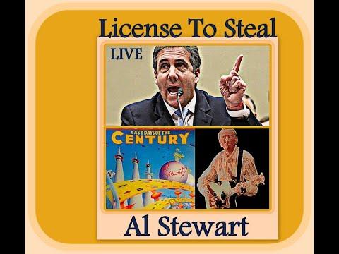 Download Al Stewart  -  License To Steal (LIVE)
