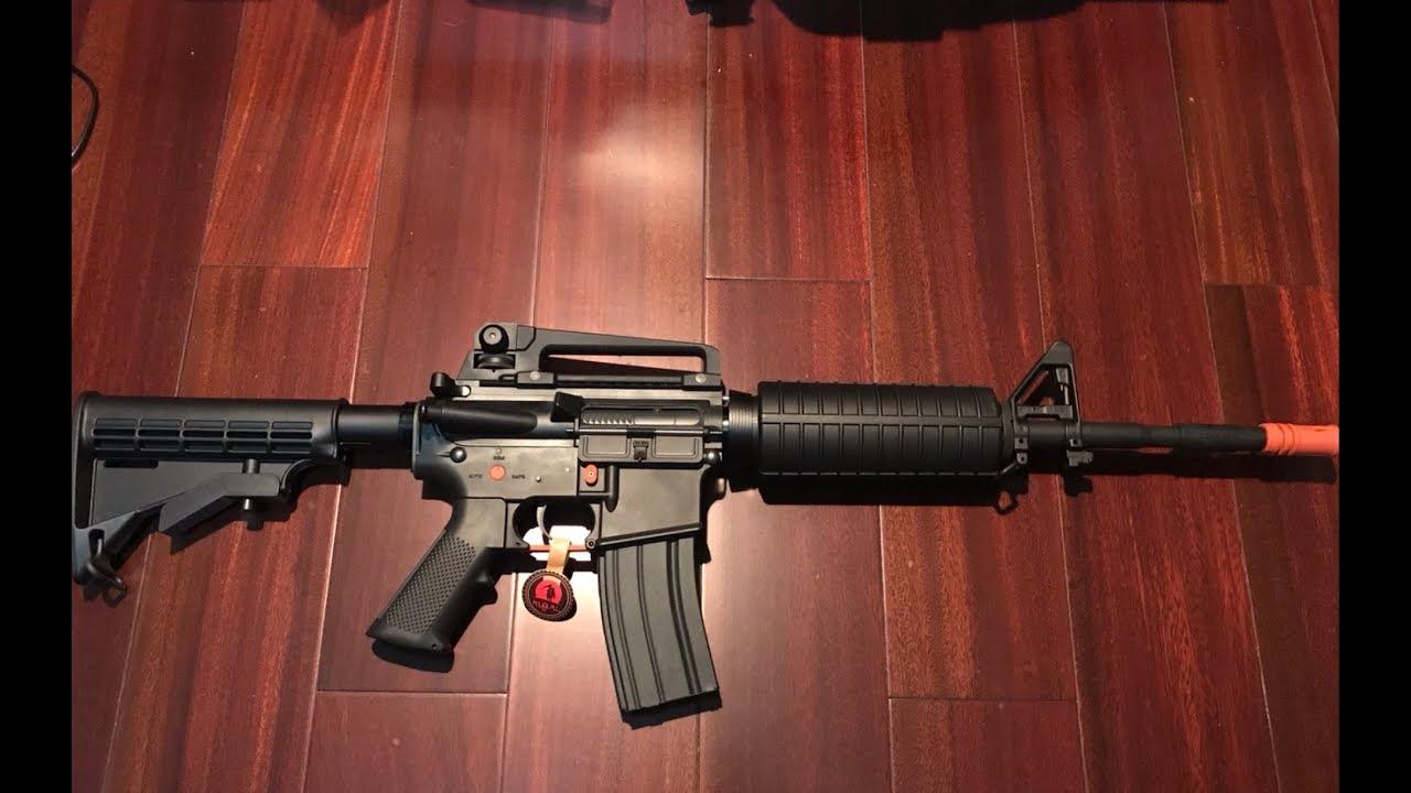 忽必烈k1(M4A1)水弹槍 Kublai KI (M4A1) Gel ball blaster