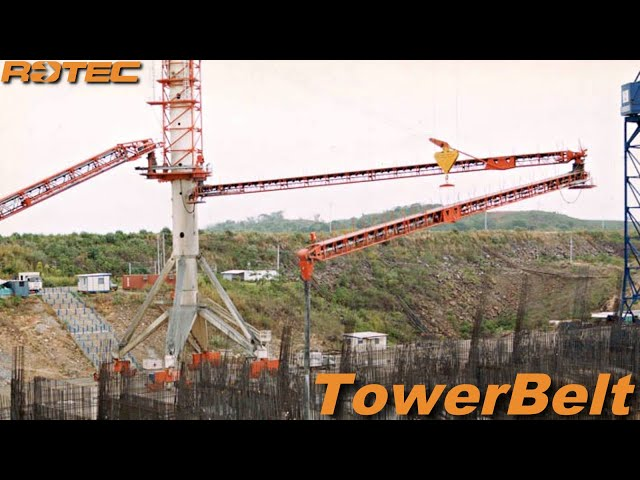 Rotec Tower Belt Placing