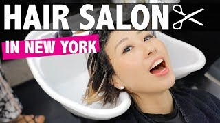 Getting a balayge in New York!