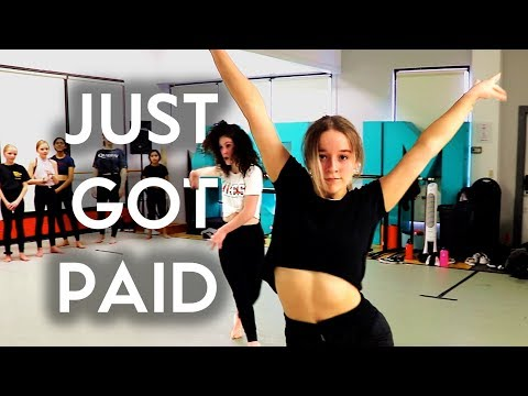 Just Got Paid - Sigala, Ella Eyre & Meghan Trainor Feat French Montana | Brian Friedman Choreography