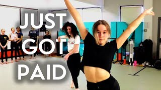 Just Got Paid - Sigala, Ella Eyre & Meghan Trainor feat French Montana | Brian Friedman Choreography
