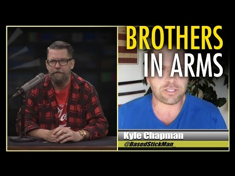 """Gavin McInnes & Based Stick Man: """"The Right is done being attacked"""""""