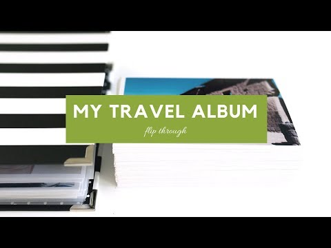 Peru 6x8 Travel Album Flip Through