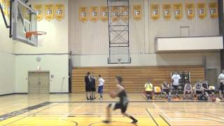 6'3 Chase Wins high school Dunks Contest at 16 years old.