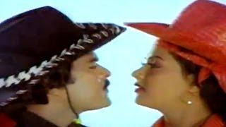 Adavi Donga Movie || Veera Vikrama Video Song || Chiranjeevi, Radha