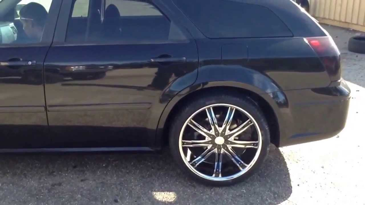 Spring Lake Rimtyme Certified  2005 Dodge Magnum On 22 U0026quot  Dcenti Dw29 On 265  35r22 Tires