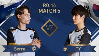 [GSL vs. the World 2019] Ro.16 Match5 Serral vs TY