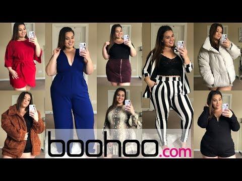 Huge Boohoo Try-On Haul! |Plus Size Fashion|