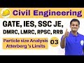 3:00 PM | Civil by Nikhil Sir | Day #03 | Particle Size Analysis Atterberg 's Limits | Part-I