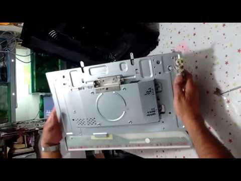 How to open the HD display GATEWAY LE1936 to repair.