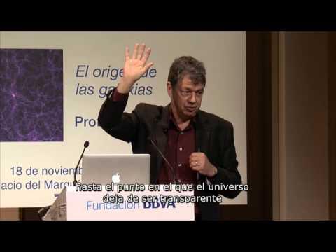 Conferencia del Prof. Simon White del Instituto Max-Planck de Astronomía en Garching, Munich