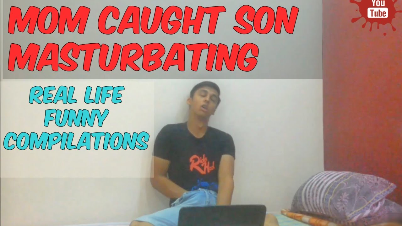 Mom caught son masturbate