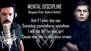 Mental Discipline - Disguise (Feat. Culture Kultür) (LYRIC VIDEO) [futurepop / synthpop]
