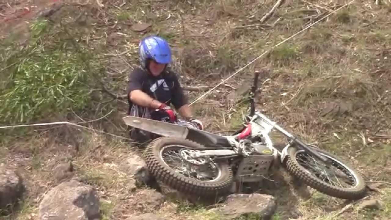 Gap Creek Farm Motorbike Park Trials Riding Youtube