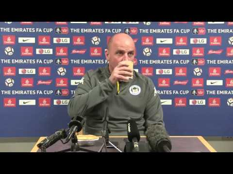 EMIRATES FA CUP: Paul Cook's pre-Southampton press conference in full