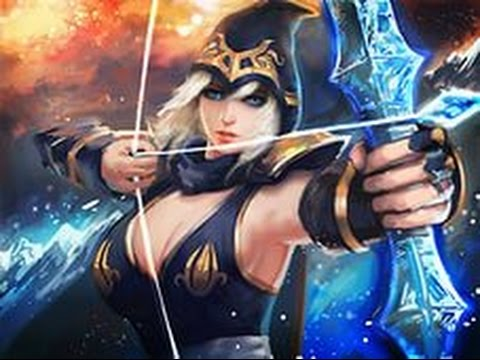 видео: Гайд на эш ускоренная прокачка league of legends лол