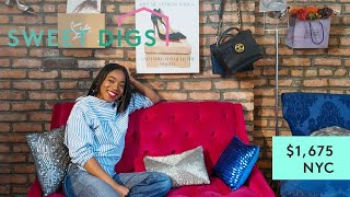 What $1,675 Will Get You In NYC | Sweet Digs Home Tour | Refinery29
