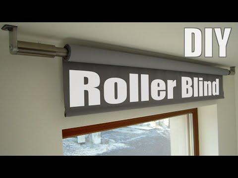 DIY Electric Roller Blind
