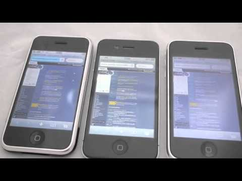 เปิดเว็บ pantip.com (iPhone 4, iPhone 3GS, iPhone, iPod touch 4G)