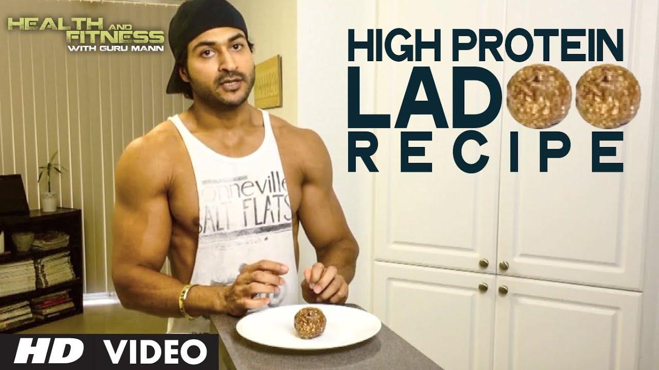 High Protein LADOO Recipe | Health and  Fitness Tips | Guru Mann